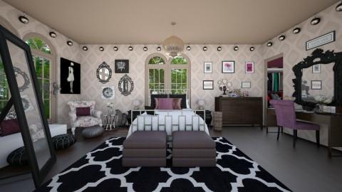 Velvet - Glamour - Bedroom - by CreativeCE