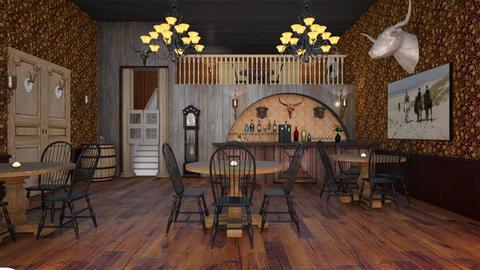 Western Saloon Design - by Studio EDesign