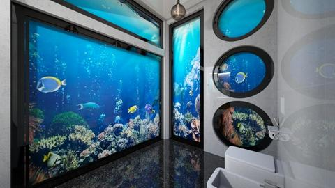 Under Water   Could U GO  - Modern - Bathroom  - by Amyz625