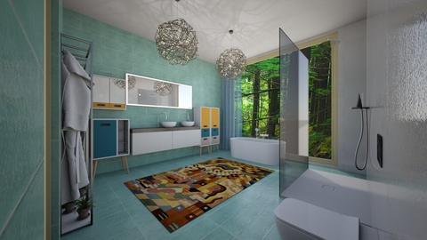 Pastel Studio - Modern - Bathroom  - by mo_habeb