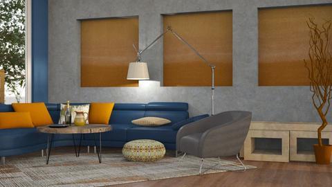 Blue Orange 2 - Modern - by Gurns
