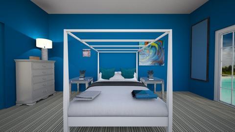 Joey bedroom three - Modern - Bedroom  - by JoeB1031