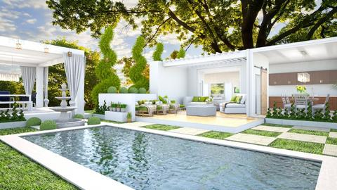 Outdoor Retreat - Garden  - by Feeny