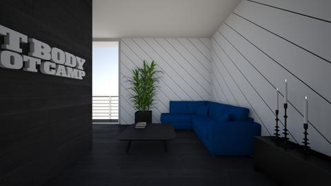 living blue - Modern - Living room - by mati07