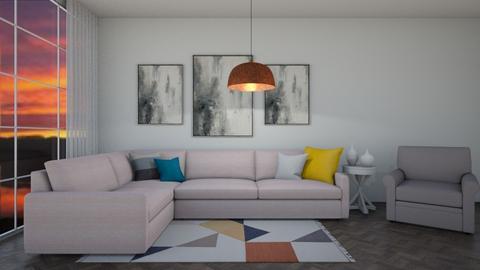 Pastel Living Room - Living room  - by kennygh
