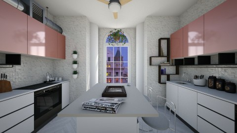 modern kitchen - Eclectic - by GALE88