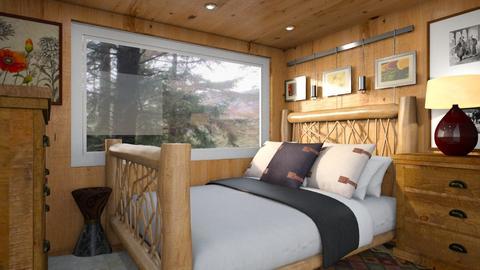 Sleeping Alcove - Bedroom - by lauren_murphy