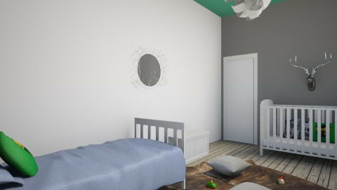 Contemporary Forest - Kids room - by ajlc11