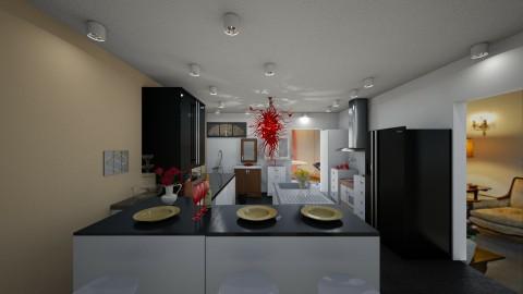 Red Devil Kitchen - by samaya