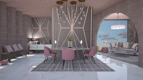 MODERN MAUVE - Modern - Dining room  - by RS Designs