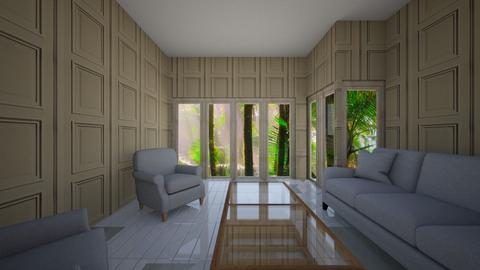 glass windows big - Living room  - by percy_jackson_geek