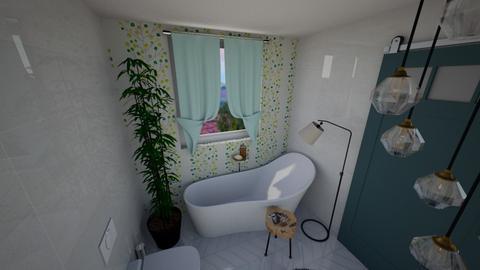 Bath test - Bathroom  - by BobaLena