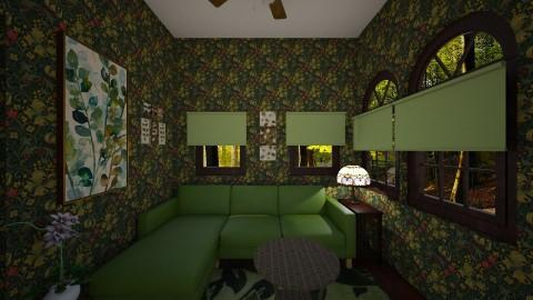 Guest Cottage - Vintage - by  krc60