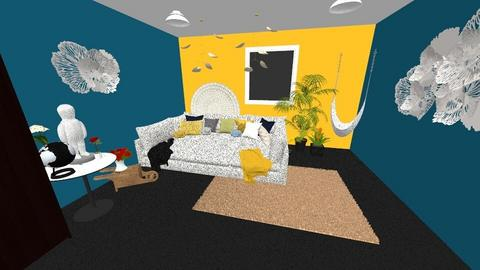 HUGE bedroom - Bedroom  - by XenaRose