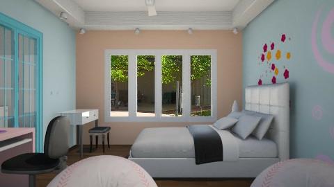 my room - Bedroom  - by Navnita