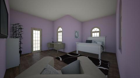 violet bedtroom  - Bedroom  - by Nleisen