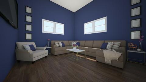 LIVING ROOM 1 - Classic - Living room  - by carabadalamenti