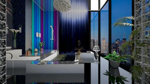 moon energy bath - Eclectic - Bathroom  - by Evangeline_The_Unicorn