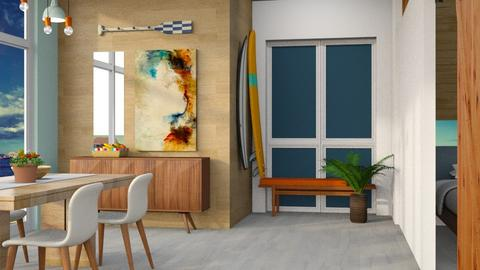 Surfers Retreat - Modern - Dining room  - by Gurns