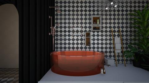 Rose Gold Bathroom  - by CamGrace