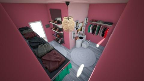 Walk in closet - by Eboni Bell