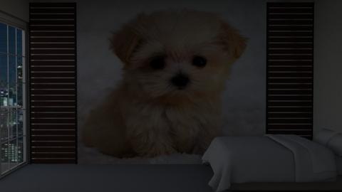 Puppy contest_S I M P L E - Bedroom  - by Aristar_bucks