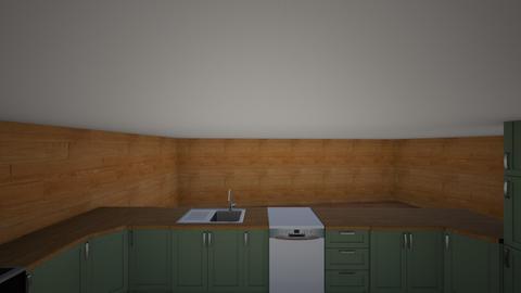 kitchen - by bllueeyedpaula