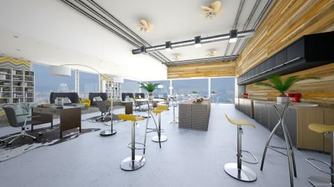 Student Hotel - Modern - Living room  - by bgref