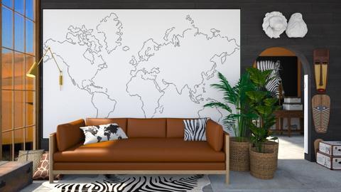 Travel - Living room  - by Meghan White