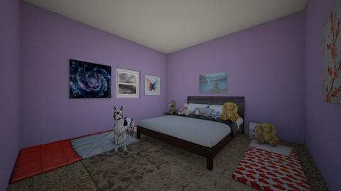 Sleepover room - by llama_555
