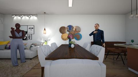 TV e aconchego  - Living room  - by wendyisp