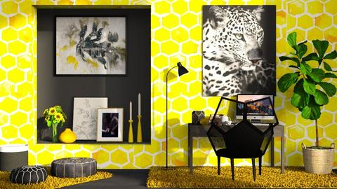 beehouse office - Modern - Office  - by RimaNina
