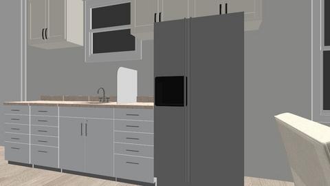 Nassau Living Rm Kitchen - Kitchen  - by aliannpea