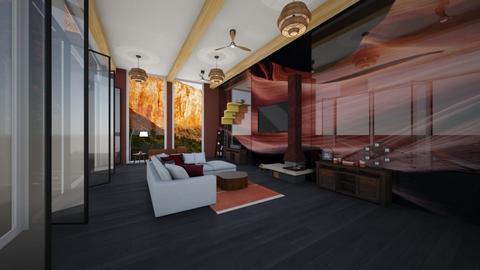 canyon room - Living room  - by Der Wandernde Vogel