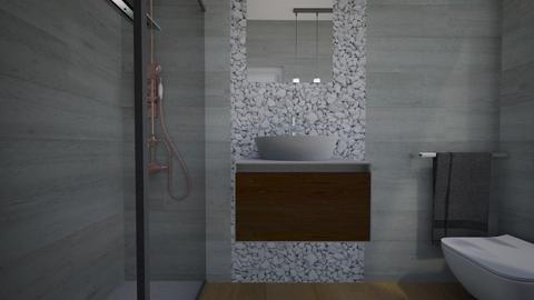 Cologno bagno ospiti23 - Bathroom - by natanibelung