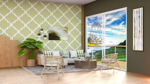 Lines_Template - Living room  - by Feeny