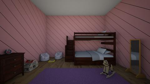 twin rooms - Classic - Bedroom  - by lunagood