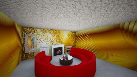 Julia Weis - Living room  - by JuliannaWeis
