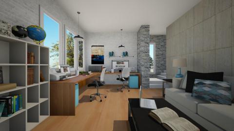 Yin - Office  - by sarimanok