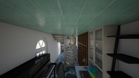 Dolphin Tiny House - Eclectic - Living room - by Ettenmoor