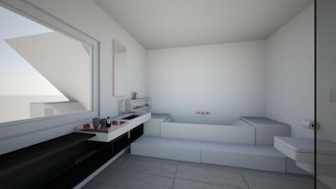 Bath w long board - by casamolino