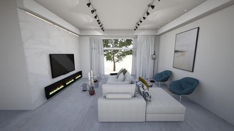 5852 - Modern - Living room  - by adi kosaev