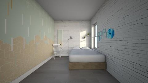 Living Light - Minimal - Bedroom  - by brontebee