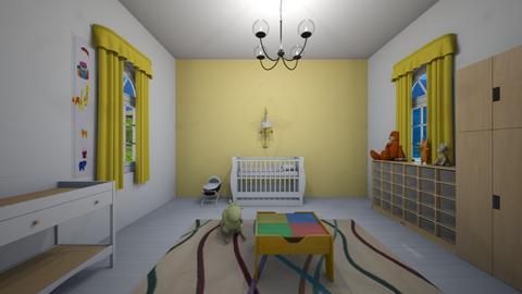 nursery - Kids room  - by Hila Meir
