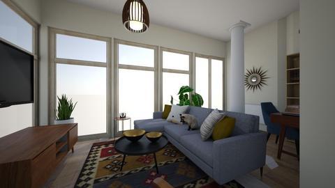 WZ dritter Entwurf 3 - Living room  - by Pris_Frauenzimmer