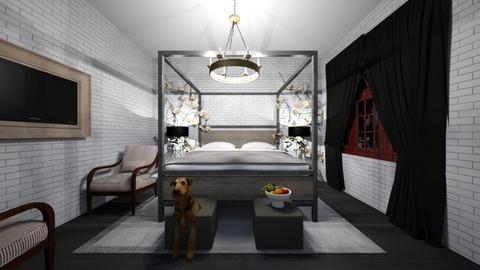 Joe Bedroom - Bedroom  - by Cardenas_K