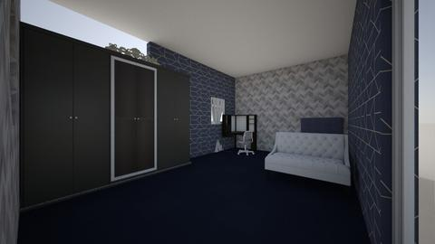 hakams room for computing - Modern - Bedroom - by Hakam2010