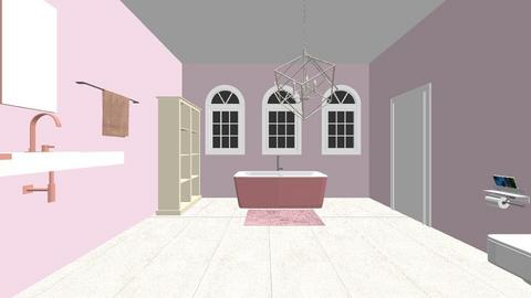 pink house - Feminine - Bathroom - by esmenette145