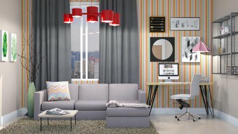 office em sala - Office - by Alecio