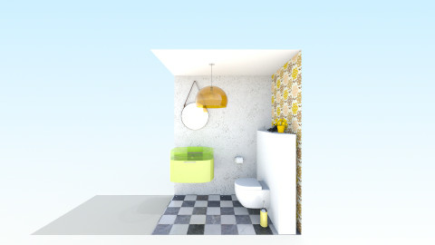 Toilet fenixloft - Retro - Bathroom  - by JamboInterieur